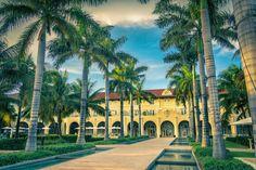 The grounds at Casa Marina Hotel - Key West, FL