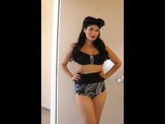 how to make a pinup bikini high fashion ,DIY- Gonna have to try this...it looks easy enough that i can do it