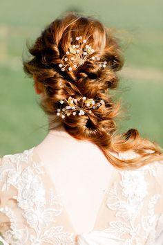 Shades of Wuthering Heights: Boho Bridal Editorial at the Chesterton Windmill Natural Auburn Hair, Creative Wedding Inspiration, Wuthering Heights, Hair And Makeup Artist, Bridal Shoot, Bridal Hairstyles, Industrial Wedding, Brides And Bridesmaids, Bridal Portraits