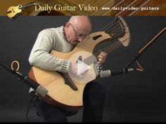 Tony Seeger - The Messenger - Seraph Harp Guitar - https://dailyvideo.guitars/tony-seeger-the-messenger-seraph-harp-guitar/ - Tony Seeger performs on  harp guitar of his own design built by Nathan Sheppard.