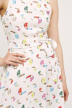 Toucan Dress #anthrofave #anthroregistry