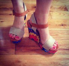 Yummy Mummy Fashion & Lifestyle : New Shoes . Yummy Mummy, Summer Shoes, New Shoes, The Selection, Wedges, Lifestyle, Sandals, Fashion, Moda