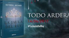 LA JAULA DEL REY (Book Tráiler en español) Lo estabais esperando. El tráiler oficial de #LaJauladelRey ya está aquí. Y el próximo miércoles en librerías.  Todo arderá . www.lareinaroja.es #LaJauladelRey #KingsCage #LaReinaRoja #RedQueen #LaEspadadeCristal #GlassSword #CoronaCruel #CruelCrown #LibertadParaMare #LaGuardiaEscarlata #ScarletGuard #LibreroenGuardiaEscarlata #VictoriaAveyard #literaturajuvenil #libros #YA #GTravesia #librerias #bibliotecas #books #bookshops