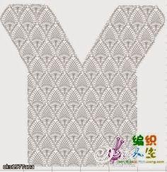 Fabulous Crochet a Little Black Crochet Dress Ideas. Georgeous Crochet a Little Black Crochet Dress Ideas. Gilet Crochet, Crochet Tunic, Crochet Jacket, Crochet Clothes, Crochet Tops, Diy Crafts Crochet, Crochet Projects, Crochet Stitches Patterns, Crochet Designs