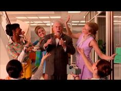 ▶ Mad Men: The Best Things in Life Are Free - Bert Cooper - YouTube  .... awesome farewell .... delightful!