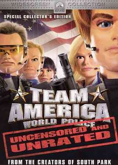 Trey Parker and Matt Stone, the masterminds behind SOUTH PARK, turn their attention to marionettes and politics in the riotous spoof TEAM AMERICA: WORLD POLICE. Combining the puppetry of the mid-1960s