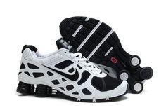 Nike Shox Turbo+ 12 Männer Schuhe Weiß Schwarz