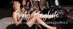JGA-Playliste: Die perfekte Musik für euren Junggesellinnenabschied Lisa, Party, Girls, Bride, Weddings, Fashion, Team Bride, Bride Groom, Music