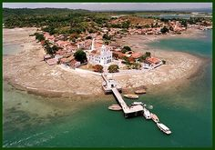Ponta do Padre, Ilha de Bom Jesus dos Passos (BA)
