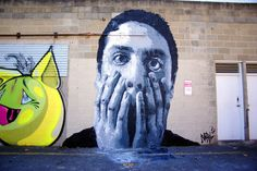 Global Street Art • Cool work by Nils Westergard from Richmond,...