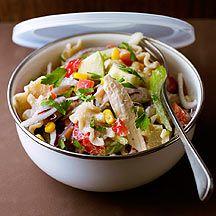 Lunchbox-Wintersalat mit Hühnchen