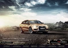 AUDI MIDDLE EAST on Behance