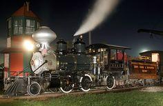 1891 Baldwin mogul steam locomotive, originally made for the Surry, Sussex and Southampton Railway in Virginia