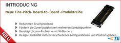 SHC GmbH - Neue Fine-Pitch- Board-to- Board -Produktreihe