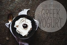 homemade yogurt by the little red house, via Flickr