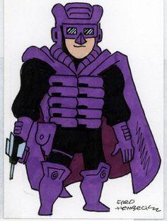 Fred-Hembeck-Color-Sketch-Card-Paladin-Marvel-1-1