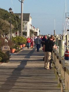 """Top 10 Great Coastal Boardwalks, Beaufort, North Carolina"" - Coastal Living Magazine (Photo by David Cartier)"