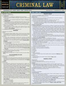 Criminal Procedure Laminated Study Guide - BarCharts Publishing Inc makers of QuickStudy Criminal Justice Major, Criminal Law, Criminal Defense, A Level Law, Law Notes, Criminal Procedure, Constitutional Law, Harvard Law, Harvard Business School