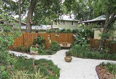 No lawn backyard