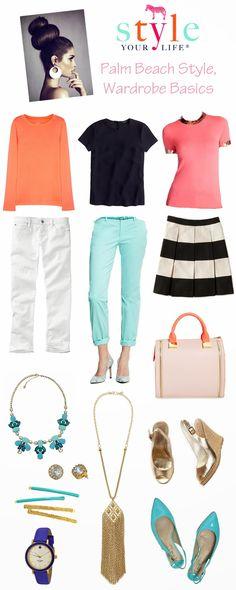 Wardrobe Essentials: Palm Beach