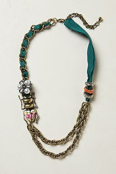 Garden Vignette Necklace - Anthropologie