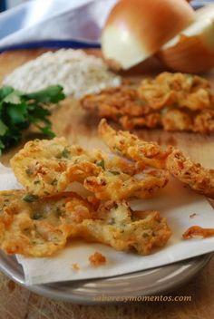 Tortillitas de Camarones - Fried Shrimp Cakes from Andalusia