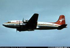 Qantas Douglas DC-4 Douglas Dc 4, Mcdonald Douglas, Australian Airlines, Douglas Aircraft, Best Airlines, Air Photo, Air New Zealand, Air Festival, Aircraft Photos