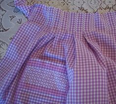 Great gingham embroidery