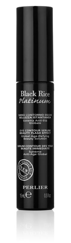 Perlier Black Rice Platinum Flash Effect Eye Contour, 0.5 Fluid Ounce * Don't get left behind, see this great  product : Eye Care