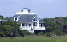 """Edisto Island Vacation Rentals SC: Lookout Point, Beach Front 