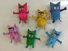 Projects For Kids, Art Projects, Crafts For Kids, Arts And Crafts, Toddler Activities, Preschool Activities, Emotions Preschool, Kindergarten Art Lessons, Monster Crafts