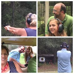 And what do 50-year-olds want to do for fun? Family target practice! Even Chip got in on the action. #50thbirthdaycelebration #shootstraight #familyfun #summer2017