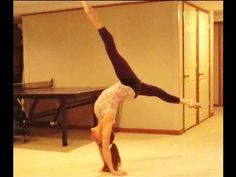 Gymnastics: How To Do A Tick Tock & Get Closer To Getting Your Front/Back Walkover With Coach Meggin