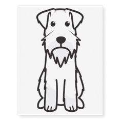 Dog Tattoo Schnauzer