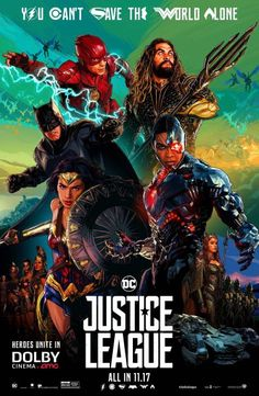"My review of #JusticeLeague (yes, I liked it!) ... excerpt: ""Justice League isn't getting a fair shake. At all. And that's a shame."" Read the rest: https://reelroyreviews.com/2017/11/19/i-dont-recognize-this-world-i-dont-have-to-recognize-it-just-save-it-justice-league/ #zacksnyder #josswhedon #wonderwoman #galgadot #batman #benaffleck #aquaman #jasonmomoa #ezramiller #flash #dccomics #boxoffice #rayfisher #cyborg #avengers #henrycavill #superman"