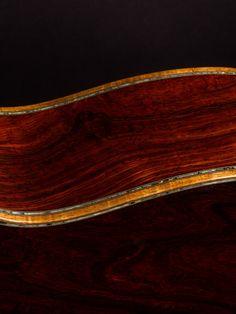 Martin Guitar Custom Shop OM-45 Blistered Cocobolo