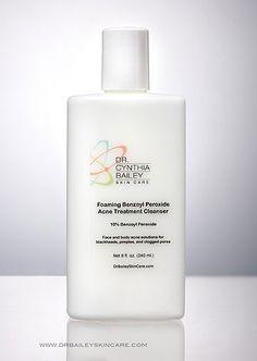 Foaming Benzoyl Peroxide Acne Treatment Cleanser