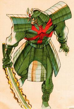 Silver Samurai - Marvel vs Capcom 2 New Age of Heroes | Street ...