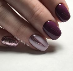 Make an original manicure for Valentine's Day - My Nails Winter Nail Designs, Short Nail Designs, Nail Art Designs, Shellac Designs, Green Nail Art, Green Nails, Cute Nails, Pretty Nails, Uñas Jamberry