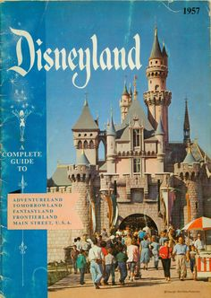 A Complete Guide to Disneyland, 1957 Have 2 of these lovely's