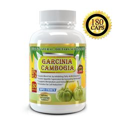 All New Garcinia Cambogia Extract Pure 80% HCA, 1500mg, Premium Quality, 180 Veggie Capsules , Highest Potency, 2 Months Supply, Best Value on Market, Weight Loss Quick with Max Fat Burner, For a Skinnier You Starting Today * Tried it! Love it! Click the image. : Garcinia cambogia