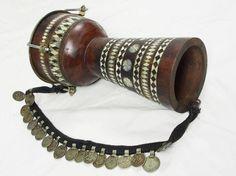 Afghan music instrument Zerbaghali Handtrommel No:17/B - orientart