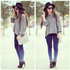 So pretty ombre jeans!