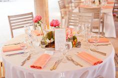 Süß Hochzeitsidee---Pfirsich Wedding Dekoration Trend!
