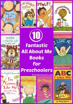 10 fantastic all about me books for preschoolers preschool literacy, presch All About Me Preschool Theme, All About Me Crafts, All About Me Book, Preschool Books, Preschool Lessons, Preschool Classroom, Preschool Learning, Book Activities, Preschool Activities