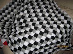 Tunisian Crochet Afghans