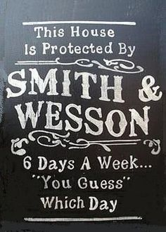 protected by smith & wesson