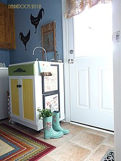 Great Laundry Room Makeover