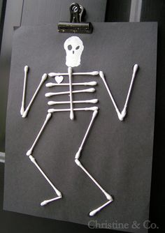 q tip skeleton craft template - 1000 images about letter q on pinterest quails letter