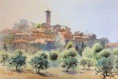 Peter Cronin Artist Artwork Gallery Watercolour